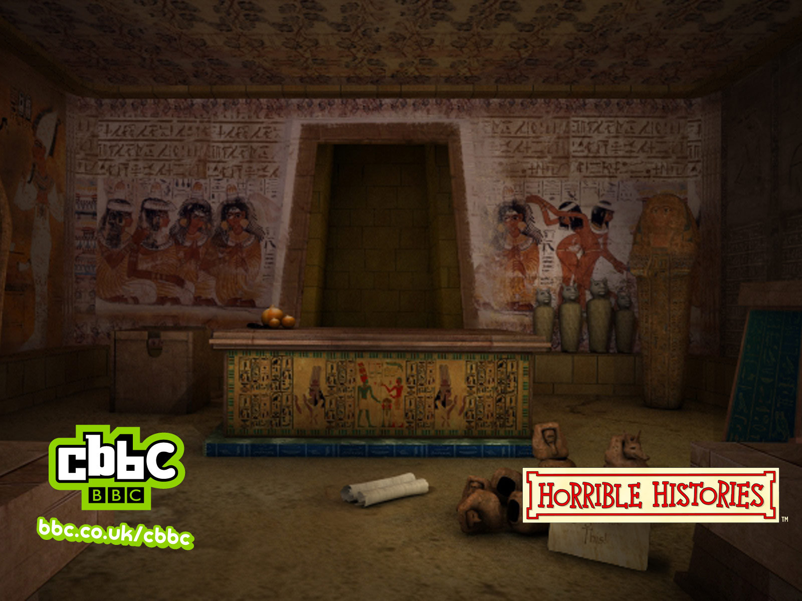 pharaohs tomb walkthrough