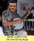 Derek & his Banjo