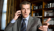 An enraged Peter Capaldi in Armando Iannucci's In The Loop.