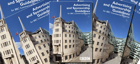 Advertising and Sponsorship Guidelines for BBC Commercial Services.