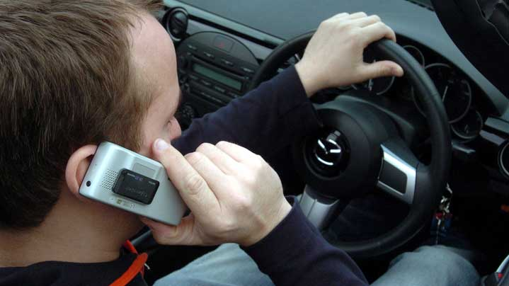 Use of Mobiles when Driving
