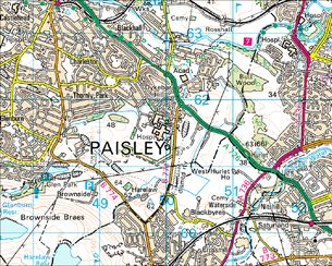 BBC  Domesday Reloaded LOCAL HISTORY PAISLEY