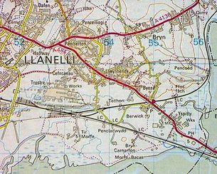 1986 OS Map