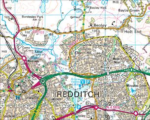 BBC Domesday Reloaded Redditch New Town