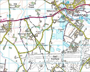 BBC  Domesday Reloaded Derivation of Fairford