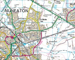 BBC Domesday Reloaded How Nuneaton has changed 2