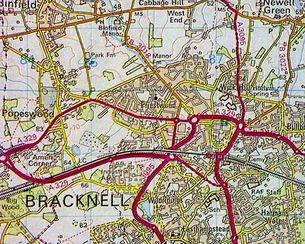 BBC Domesday Reloaded Bracknell 1985