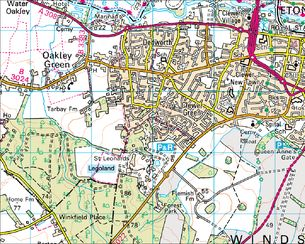 BBC Domesday Reloaded History from the Street Map