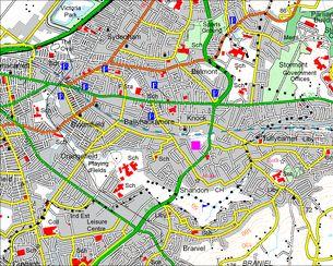 2011 OS Map