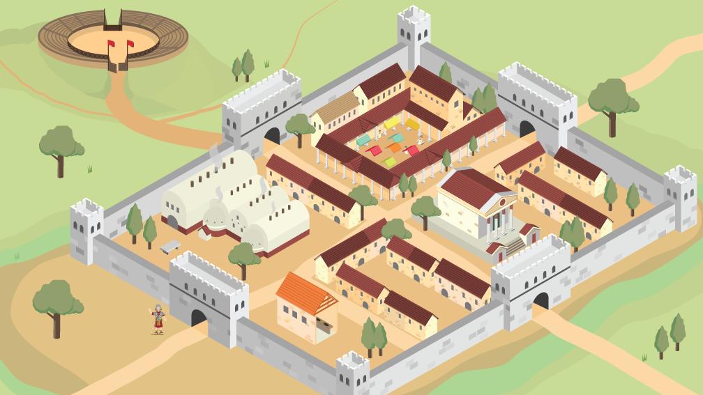Bbc Bitesize What Was It Like In Roman Britain