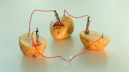 how to make a battery out of fruit