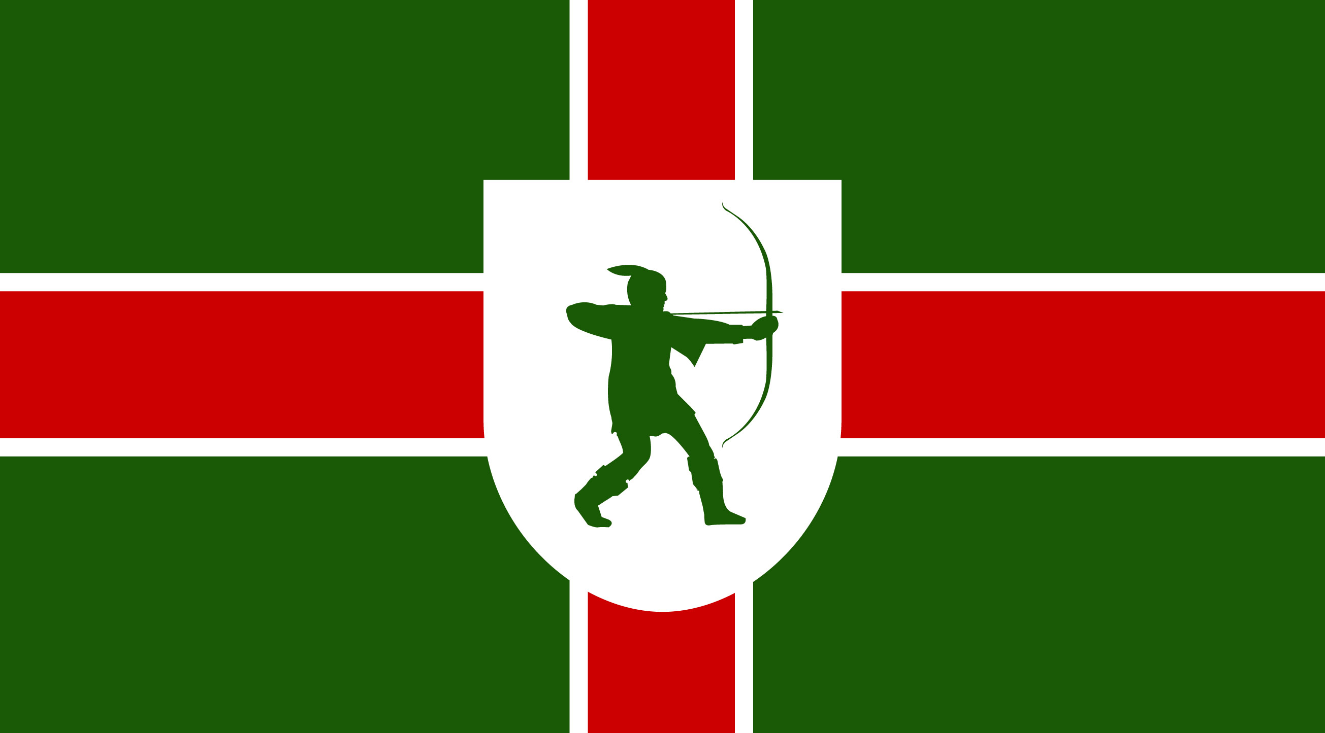 nottinghamshire flag design unveiled bbc news
