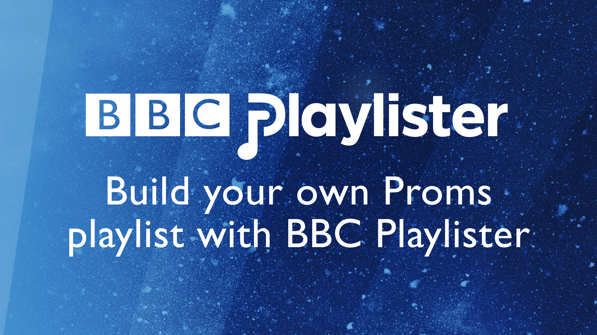 Build your own Proms playlist with BBC Playlister