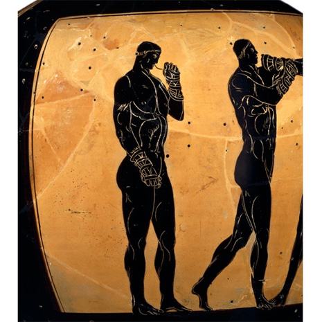 the ancient greek olympics 2 the olympic games in ancient greece the sporting events at olympia were  the oldest and most important of the four national greek athletic festivals.