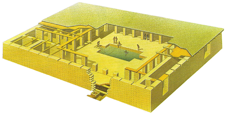 bbc primary history indus valley technology and jobs this picture shows what the great bath at mohenjo daro have been like