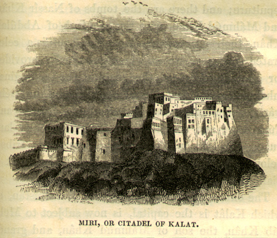 Charles Mason Drawing of Citadel