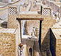 A modern picture of how the gateway into an Indus city looked. <!-- Copyright Chris Sloan, Courtesy J.M. Kenoyer -->