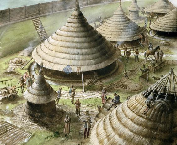 Como se vive en...la Britania celta (en construcción) R_maiden_caslte_reconstruction