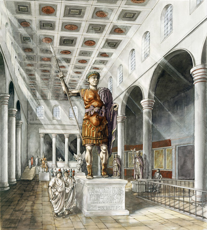 Bbc Primary History Romans Roads And Places