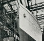 The Titanic (on the left) and the Olympic (on the right) were both White Line passenger liners built by Harland & Wolff