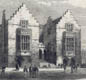 Harrow School in 1862. At public schools like Harrow, sport was an important part of the boys' education.