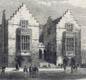Harrow School in 1862. At public schools like Harrow, sport was an important part of the boys' education.