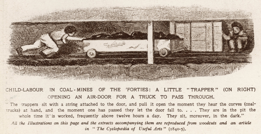 Persuade most people that it was wrong for children to work in mines