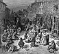 A Victorian slum. A picture of the Seven Dials district of London in 1872. What do you think it was like to live there?