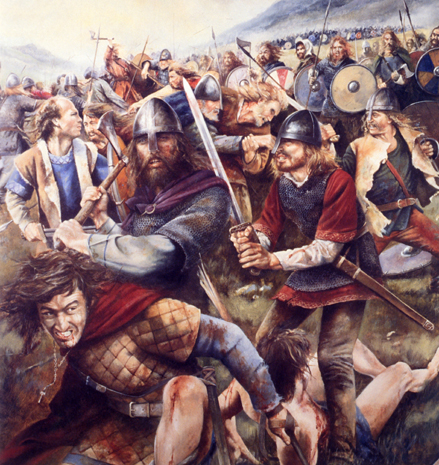 pictures of vikings in battle. Battle illustration