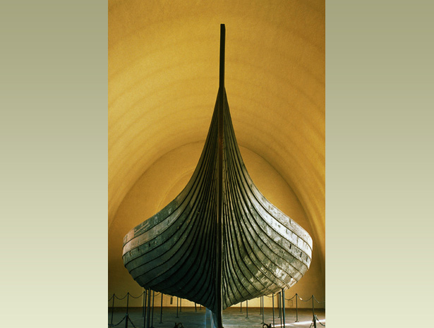 The Gokstad Ship Was Built Between AD 850 And