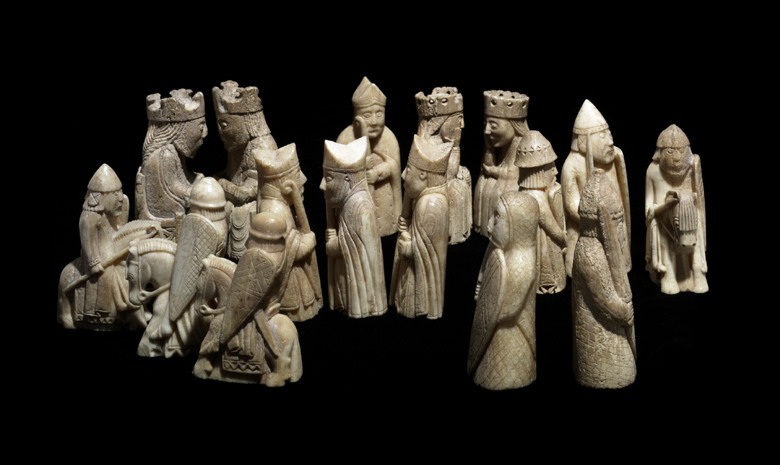 Bbc primary history vikings what happened to the vikings - Lewis chessmen set ...