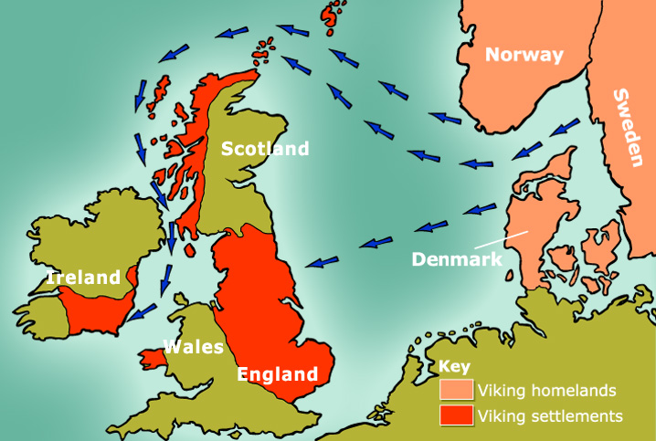 Map Of England For Ks1.Vikings For Children Vikings Homework Help Vikings For Ks1 And