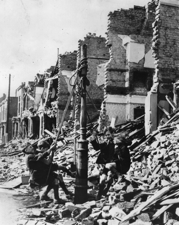 Bbc primary history world war 2 children at war for How many homes were destroyed in germany in ww2