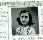Pages from Anne Frank's diary, with text and images - written in October 1942.