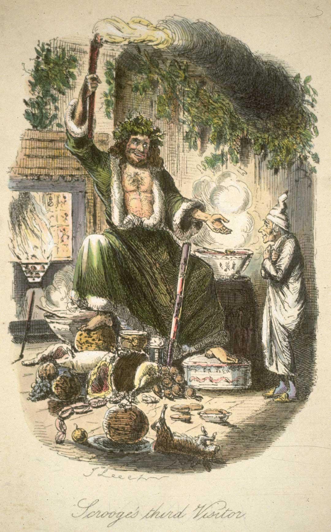 School Radio - A Christmas Carol, 5: The second of the three spirits