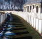 The British Military cemetery at the town Of Ypres, Belgium. By the end of the war around a million soldiers from Britain and its Empire had died.