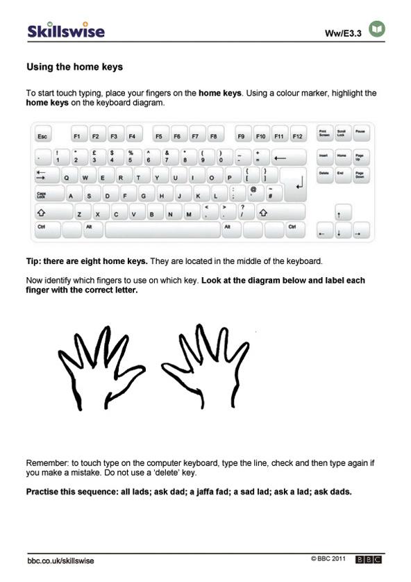 en09typie3wusingmorekeys592x838jpg – Keyboarding Worksheets