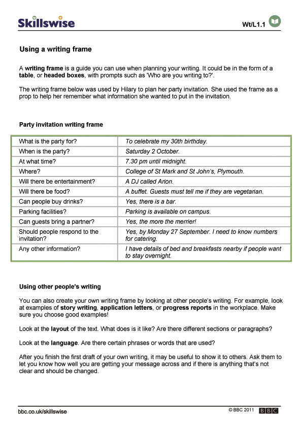 BBC - Higher Bitesize History - Essay writing : Revision