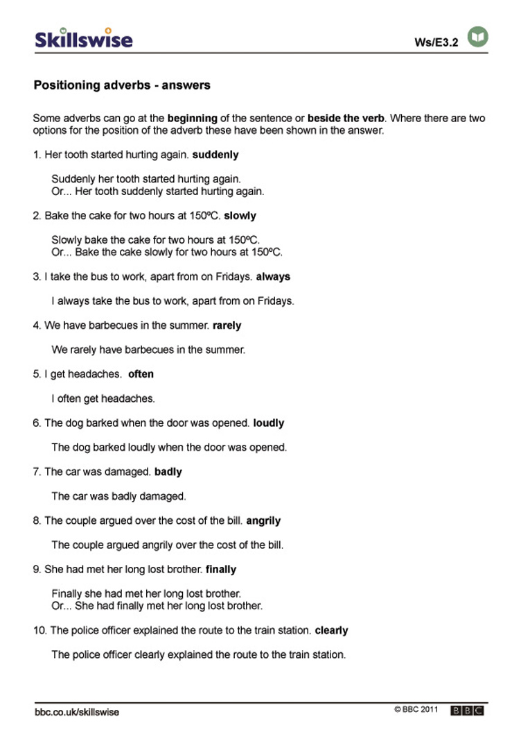 Adverbs In Sentences Worksheet - Laptuoso alphabet worksheets, learning, worksheets for teachers, education, and grade worksheets Worksheets Adverbs 1065 x 752