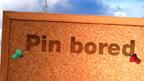 Pin bored game