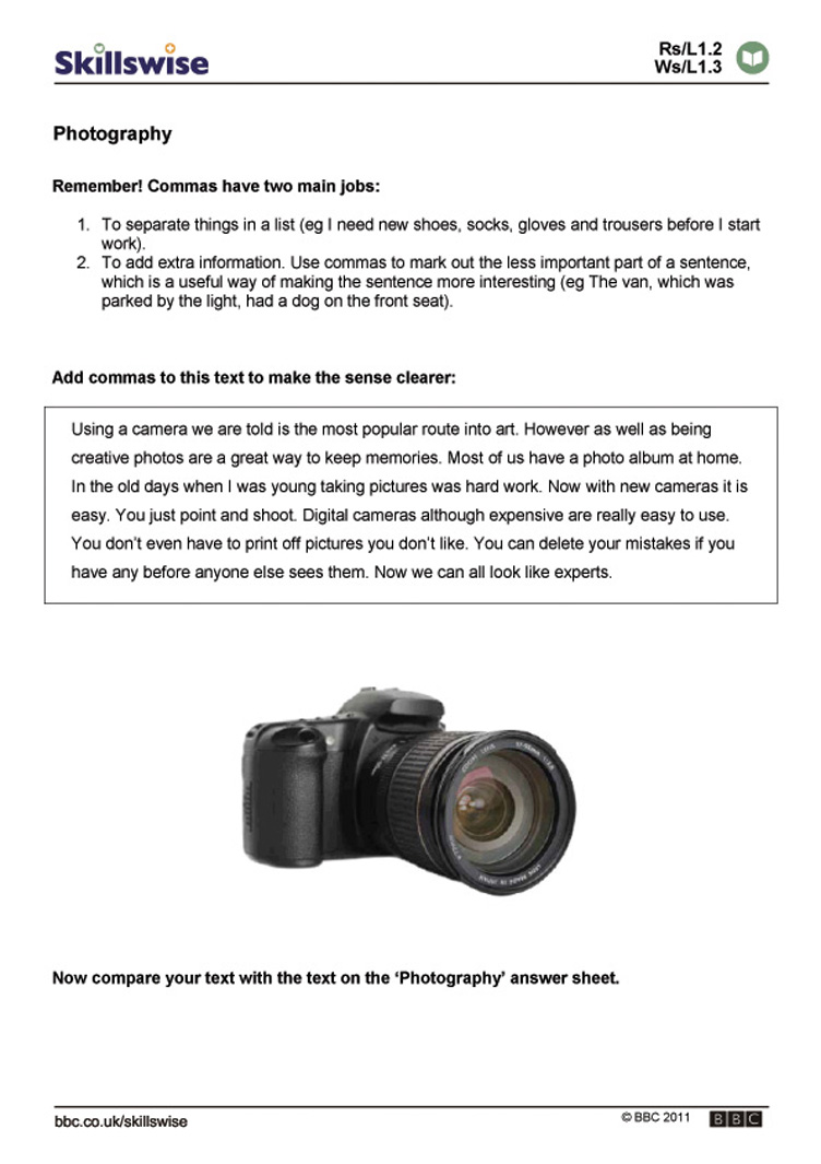 Worksheet Photography Worksheets photography