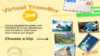 The virtual traveller game