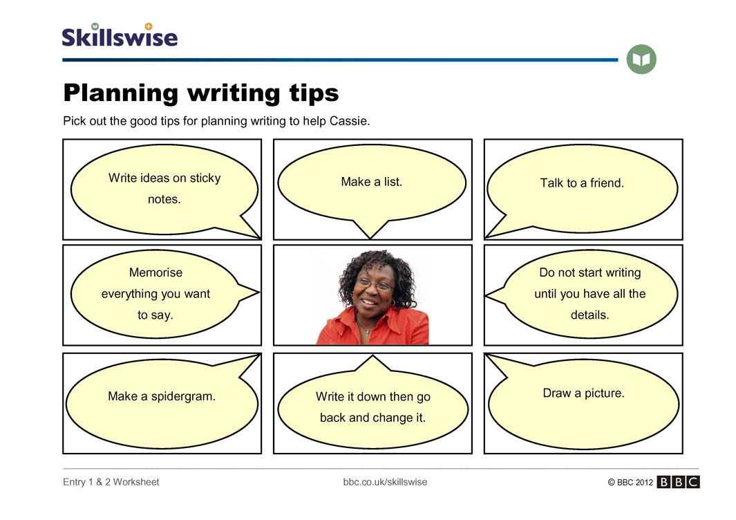 writing a essay tips