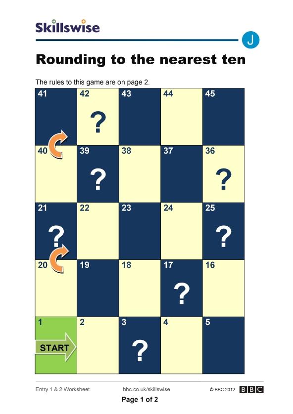 ma06roune2wroundingtothenearestten592x838jpg – Rounding to the Nearest 10 Worksheet