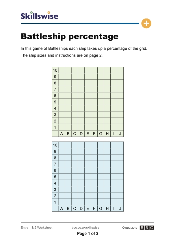 ma17perce1e2wbattleshippercentage592x838jpg – Percentage Worksheet