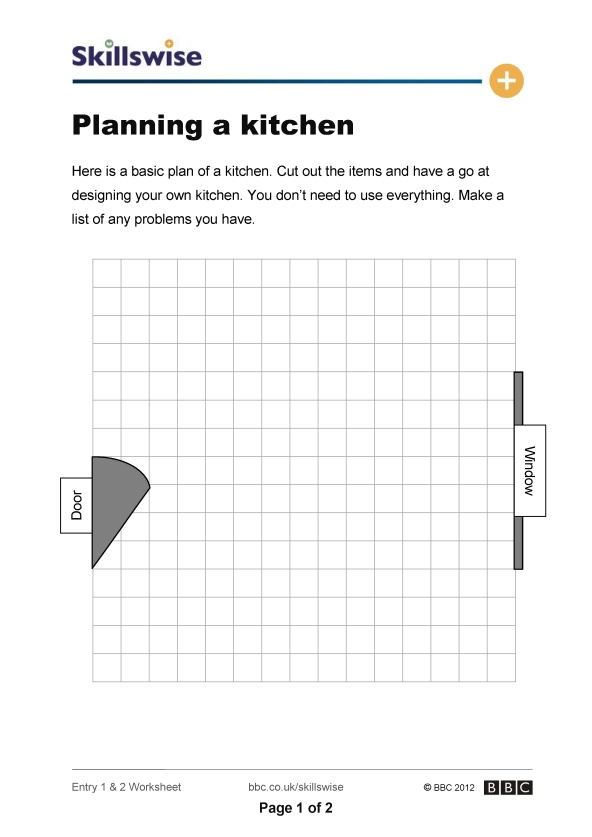 Maps and plans worksheet preview