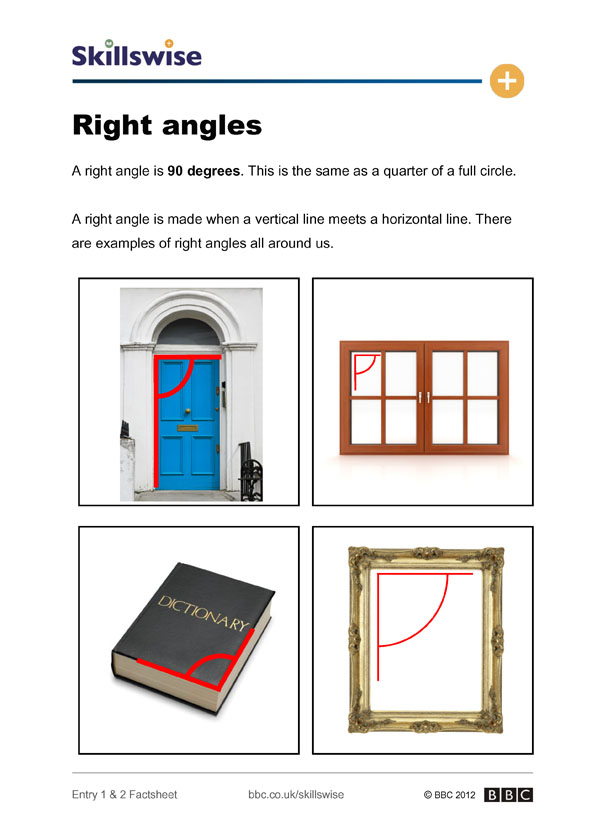 Right angles for Right angle house