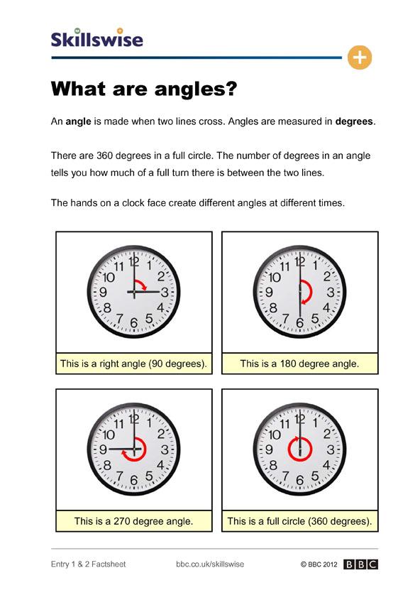 Clock faces worksheet year 1