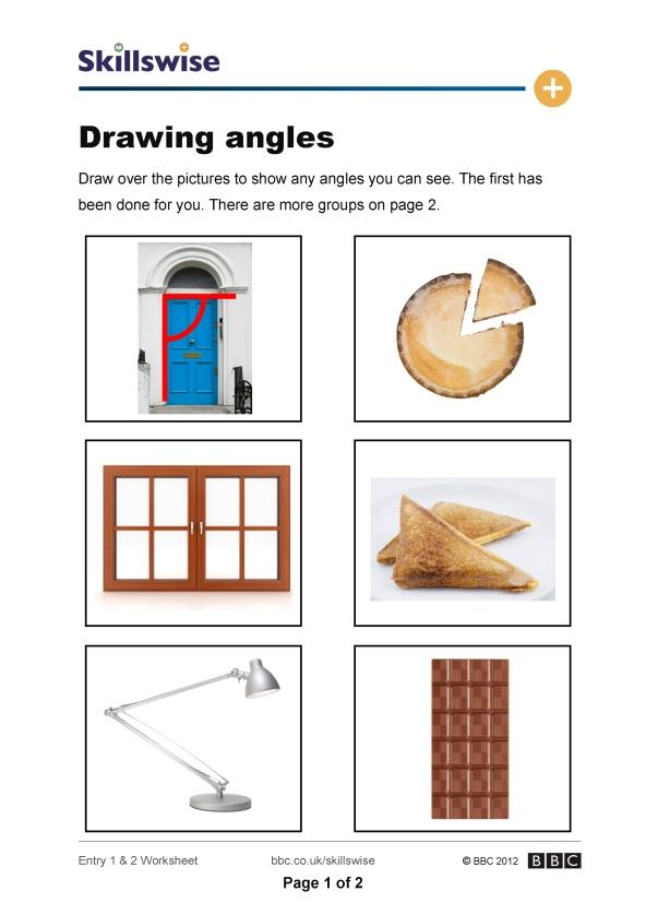 math worksheet : ma33angl e2 w drawing angles 592x838  : Drawing Angles Worksheet