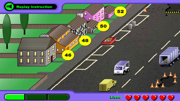 Click to play 'Delivery driver game'